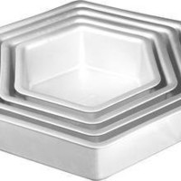 Hexagon Cake Pans - Sur La Table