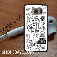 Bastille Lyric Art jilbabers For galaxy S6, Iphone 4/4s, iPhone 5/5s, iPhone 5C, iphone 6/6 plus, ipad,ipod,galaxy case