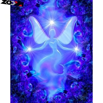 5D Diamond Painting Abstract Angel Silhouette Kit