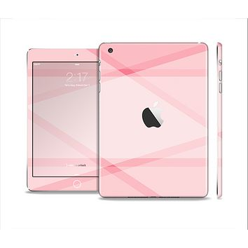 The Subtle Layered Pink Salmon Full Body Skin Set for the Apple iPad Mini 2