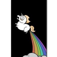 Unicorn Pooping Rainbow IPhone 5/5s Cell Phone Case