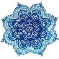 Bonita Beach Collection Mandala Tapestry Beach Blanket