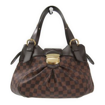 Louis Vuitton Damier Sistina PM N41542 Women's Shoulder Bag Ebene BF313440