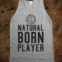 NATURAL BORN PLAYER VOLLEYBALL TANK