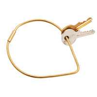 Contour Key Ring Drop