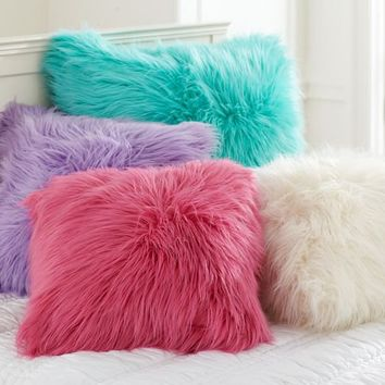 Fur-ific Pillow Cover