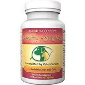 Animal Necessity - Healthy Aging Vet Natural Geriatric Support Dog & Cat Supplement