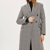 Double Breasted Coat | Topshop