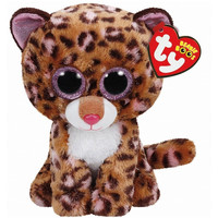 TY Beanie Boos Patches the Leopard Small 6""