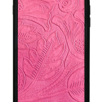 Pink Leather iPhone 6 Plus/6s Plus Case