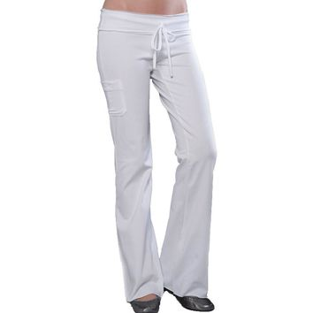 Yoga Clothing for You Womens Cotton/Spandex Yoga Pants with Pocket