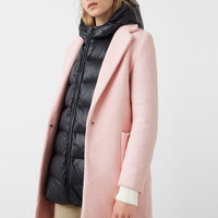 Pockets wool coat
