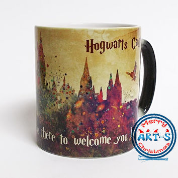 Harry Potter Mug Hogwarts Castle Color Changing Mug Harry Potter Quote Mug Magical Mug Coffee Cup Harry Potter Cup Birthday Hogwarts Castle