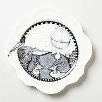 Anthropologie - Forest Fiddler Dinner Plate