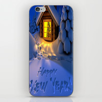 MERRY CHRISTMAS iPhone & iPod Skin by Acus