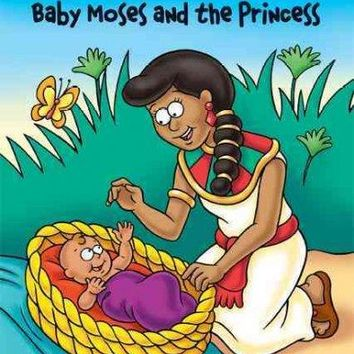 Baby Moses and the Princess: The Beginner's Bible (Zonderkidz I Can Read)