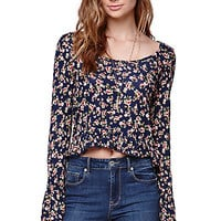 LA Hearts Bell Sleeve Ruffle Top at PacSun.com