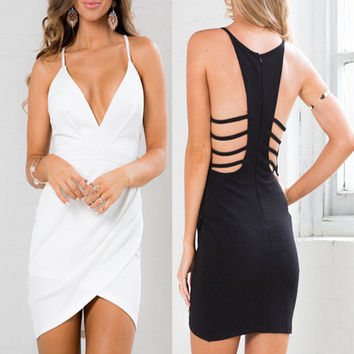 Womens Hollow Out Dress Party Dress Gift 46
