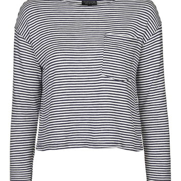 Long Sleeve Weekend Stripe Top