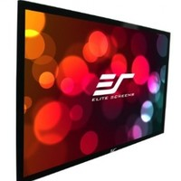 Elite Screens Sable Frame, 120-inch 16:9, Fixed Frame Home Theater Projection Projector Screen, ER120WH1