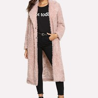 Teddy Trench- Pink