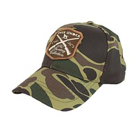 Sporting Collection Hat in Old School Camo by Over Under Clothing