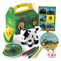 John Deere 2nd Birthday Party Favor Box