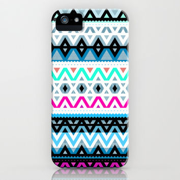 Neon Mix #3 iPhone & iPod Case by Ornaart