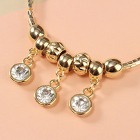 Crystal Accent Bangle