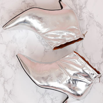 JEFFREY CAMPBELL | Zosia Bootie - Silver
