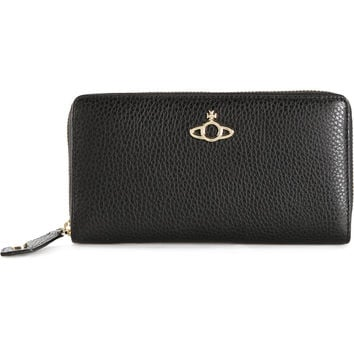 Vivienne Westwood / zip around orb wallet
