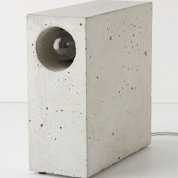 Matthias Kothe for Komat Beton Concrete Desk Lamp in Assorted Size: One Size Lighting
