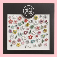 ONNU Spring Flower Nail Stickers | Nordstrom