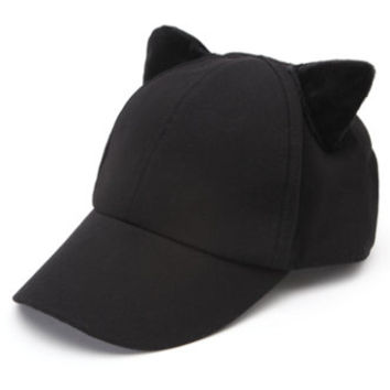 Kendall & Kylie Cat Ear Baseball Hat at PacSun.com