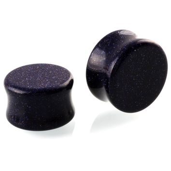 2PCS Stone Ear Plugs Ear Expander Natural Polished 6MM 8MM 10MM 12MM 14MM 16MM Body Piercing Tunnels Jewelry For Women Gifts