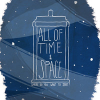 All Of Time And Space Art Print by Nan Lawson