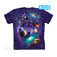 Wolf of the Cosmos Kids T-Shirt
