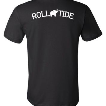 Official NCAA Venley University of Alabama Crimson Tide UA ROLL TIDE! Unisex T-Shirt - 35AL-8