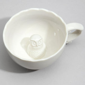 Hidden Owl Tea Cup