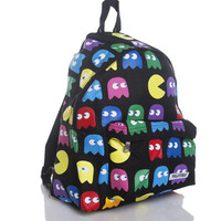 Retro Gamer Ghosts Backpack : TruffleShuffle.com