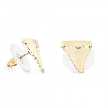 C. Wonder | Shark Tooth Stud Earrings