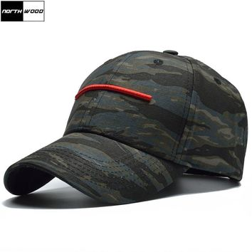 Trendy Winter Jacket [NORTHWOOD] 2018 New Camo Baseball Cap Men Women Camouflage Cap Casquette Homme Bone Trucker Cap Adult Tactical Camouflage Hat AT_92_12