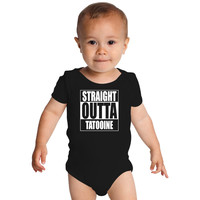 Straight OUTTA Tatooine - Star Wars Baby Onesuits