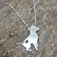 Itty Pittie Sterling Silver Necklace