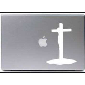 Jesus On Cross Tablet PC Decal Sticker