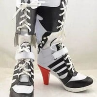 Batman Suicide Squad Harley Quinn Movie Cosplay Costumes Shoes