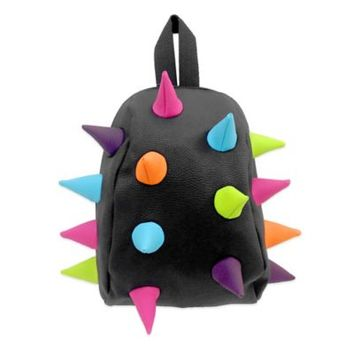 MadPax Nibbler Spiked Backpack in Black/Multicolor