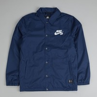 Nike SB Assistant Coaches Jacket Midnight Navy / Black (Ivory)