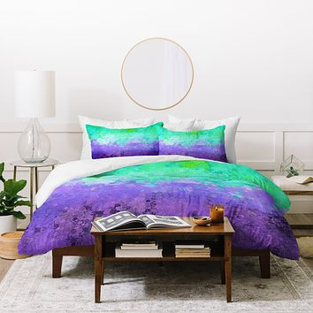 Ingrid Padilla Candy Purple Duvet Cover