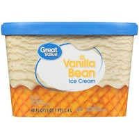 Great Value Vanilla Bean Ice Cream, 48 oz - Walmart.com